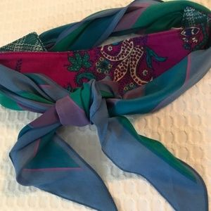 Accessories - Vintage 80s 70s Recycled Scarf Headband